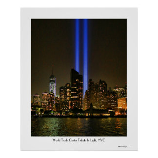NYC Skyline: WTC  9/11 Tribute In Light 2013 #1 Posters