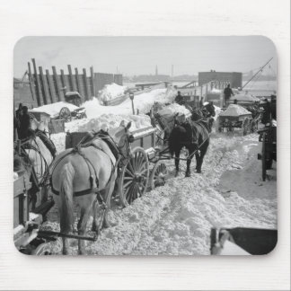 NYC Snow Job, 1899 Mouse Pad