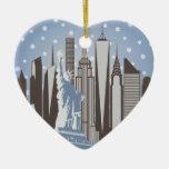 NYC Snowflakes Ornaments