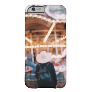 NYC soñadores Brooklyn feliz van chica de la ronda Funda Para iPhone 6 Barely There