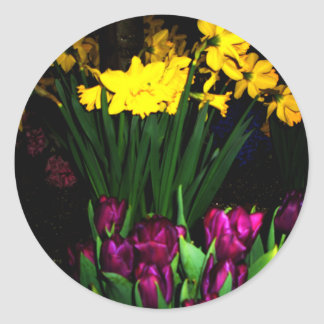 NYC Spring Flowers CricketDiane Art & Photography Classic Round Sticker
