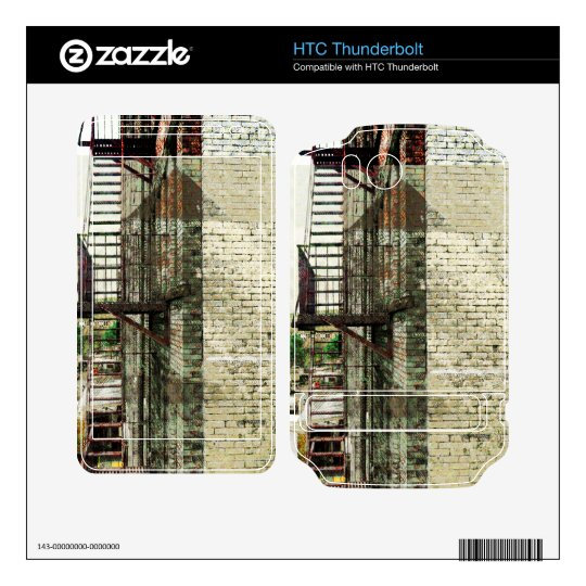 Nyc staizunal stairway love in new york skins for HTC thunderbolt