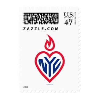 "NYC Stamp Small (V) 1.8""x1.3"" - Gotham Heart"
