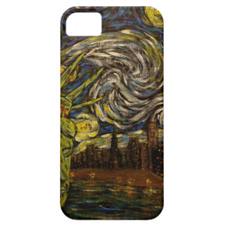 NYC Starry Night.: Twin Towers (The True Towers) iPhone SE/5/5s Case