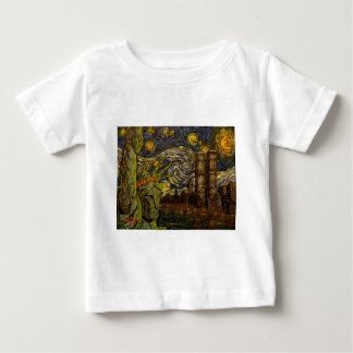 NYC Starry Night: Twin Towers (The True Towers) T Shirt