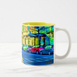 NYC Street2 Pop Two-Tone Coffee Mug