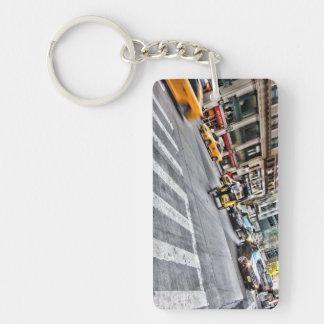 NYC Street Scene Keychain