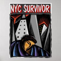 NYC Survivor hurricane Sandy posters