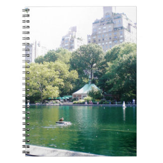 NYC Tavern on the Green Spiral Note Book