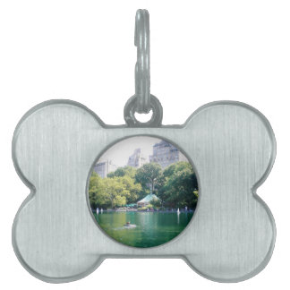 NYC Tavern on the Green Pet Name Tag