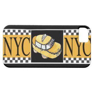 NYC Taxi Cab iPhone 5 Case