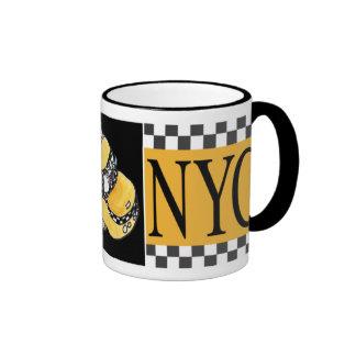 NYC Taxi Cab Ringer Mug