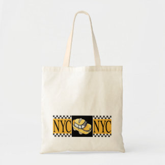 NYC Taxi Cab Tote Bags