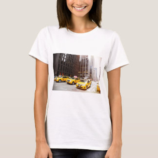 NYC taxi cabs in New York T-Shirt