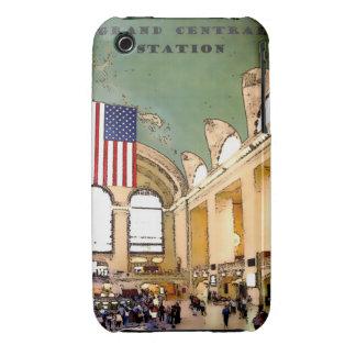 NYC--Termina central magnífico/estación, caso Case-Mate iPhone 3 Fundas