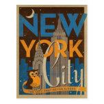 NYC - The City that Never Sleeps Postcard