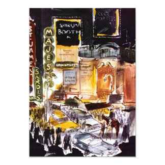 NYC Theatre District Themed Invitations ~ Sweet 16