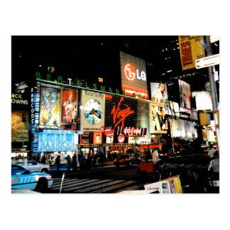 NYC Times Square Broadway New York City Postcard