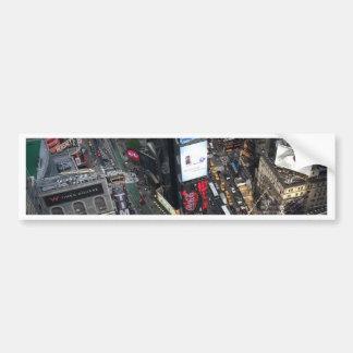 NYC Times Square Bumper Sticker