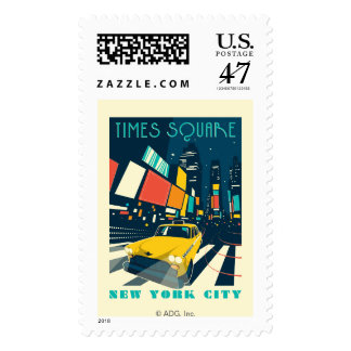 NYC - Times Square Stamp