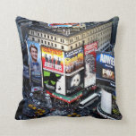 NYC Times Square Throw Pillows