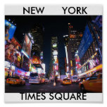 NYC_Times_Square, TIMES SQUARE, NUEVA YORK Poster