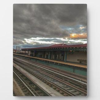 NYC Tracks Plaque