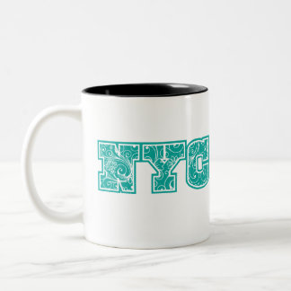 NYC Two-Tone COFFEE MUG