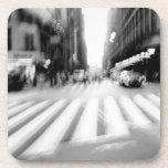 NYC Urban Abstract Scene Drink Coaster