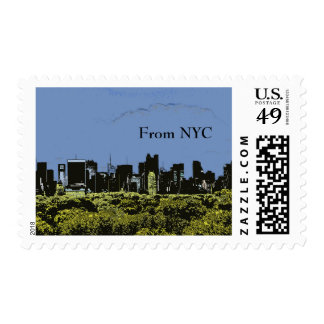NYC View Postage
