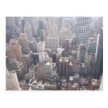 NYC View South Down 5th Avenue Postcard