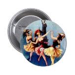 NYC Vintage Ballerinas Dance Pins