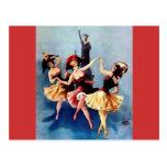 NYC Vintage Ballerinas Dance Post Cards