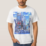 NYC vintage travel poster times square t-shirt