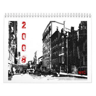 NYC Wall Calendar