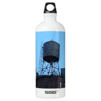 NYC Water Tower Aluminum Water Bottle