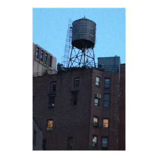 NYC Water Tower Stationery