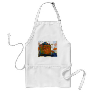 NYC Water Towers #2 Adult Apron