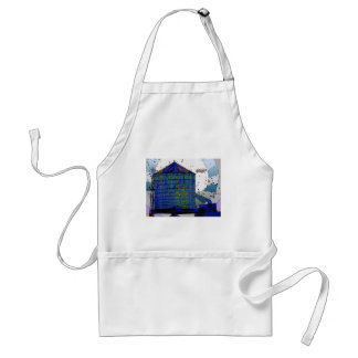 NYC Water Towers #3 Adult Apron