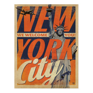 NYC - We Welcome You! Postcard