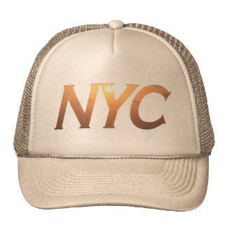 NYC with Brooklyn Bridge Trucker Hat