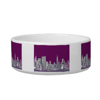 NYC with purple lilac Bowl