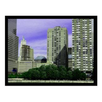 NYC WTC Site Postcard