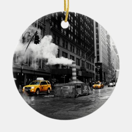 NYC Yellow Cab Adorno De Reyes
