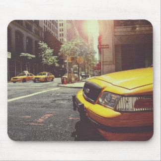 NYC Yellow Cab Mouse Pad