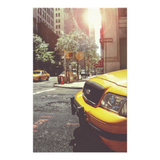 NYC Yellow Cab Stationery