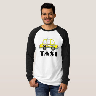 NYC Yellow Checkered Taxi Cab New York City Tee