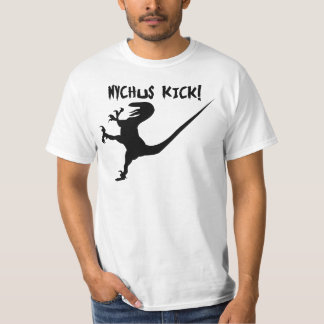 NYCHUS KICK!  (Deinonychus T-Shirt) T-Shirt