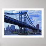 NYC's Manhattan Bridge A2 Print