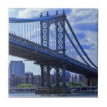 NYC's Manhattan Bridge A2 Tile